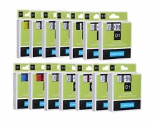Compatible Dymo D1 LabelManager /  LabelPoint Label Tapes 6mm 9mm 12mm 19mm