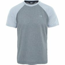 North Face Tanken Raglan Hommes T-shirt à Manche Courte - Tnf Medium Grey