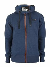 SUDADERA SUPERDRY NARANJA LABEL URBAN ZIPHOOD