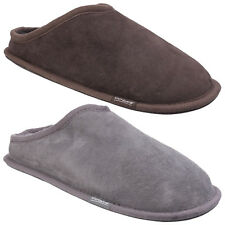 Cotswold Hidcote Sheepskin Mule Leather Slip On Comfort Slippers Mens