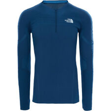 North Face Kanagata Ls Hommes Seconde Peau - Urban Navy Hyper Blue