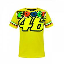 VR46 Valentino Rossi MotoGP The Doctor 46 Monster Motorcycle T-shirt - Yellow