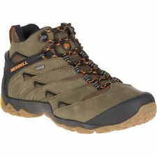 Merrell Chameleon 7 Mid Gtx Hommes Chaussures - Olive Toutes Tailles
