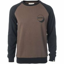 Rip Curl Southern Hommes Pull Sweater - Chocolate Brown Toutes Tailles