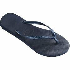 Havaianas Slim Femmes Chaussures Tongs - Navy Blue Toutes Tailles