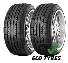 1X 2X Tyres 235 50 R17 96W XL Continental ContiSportContact5 E A 71dB