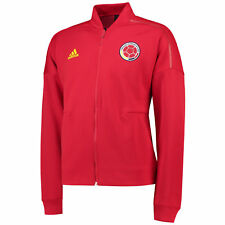 Colombia ZNE Knitted Anthem Giacca Uomo Rosso Manica Lunga Zip adidas