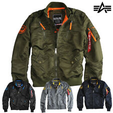 ALPHA INDUSTRIES giacca uomo FALCO II Invernale Bomber S M L XL XXL 3XL NUOVO