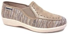 EMANUELA 2217 CORINE BEIGE PANTOFOLE DONNA MADE IN ITALY SOTTOPIEDE IN VERA PELL