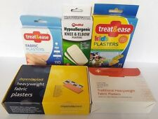 *NEW* KIDS AND ADULT STERILE ASSORTED WASHPROOF FABRIC PLASTERS 5 75 100 110