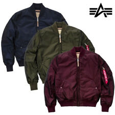ALPHA INDUSTRIES giacca uomo MA-1 VF 59 IRIDIO Giacca Bomber Giacca S fino a 3XL