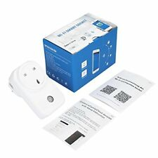 Remote Voice Control, Smart Plug Wifi Socket Wireless Outlet, Timer Alexa Google