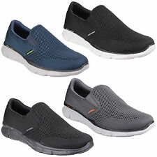 Skechers Equalizer DOPPIO PLAY MEMORY FOAM SPORT GO WALK Scarpe da uomo uk6-12