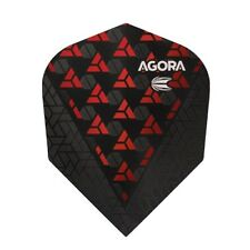 Target Vision Ultra Ghost AGORA 100 Micron Translucent Flights – No.6 Red