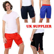 Mens Swimming Shorts Mesh Lined Swimwear Beach Summer Pocket Pants Boys S/M-3XL