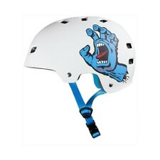 Bullet - Bullet Santa Cruz Screaming Hand White Casco Skateboard