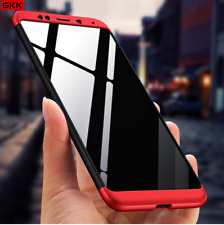 3 in 1 Luxury Matte Finish Front & Back Case Cover For Xiaomi Redmi Note 5