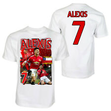 Alexis Sanchez Polyester sports t-shirt United Chile kids adult football shirt
