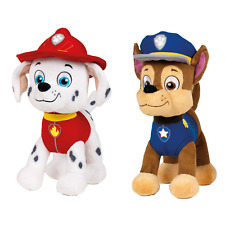 Ousdy - Peluches de la Patrulla Canina 19cm Super Soft (CHASE-MARSHALL)760014402