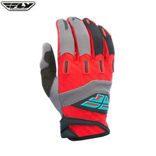 Fly Racing 2017 f-16 Adulto Motocross MX MTB Bajada Guantes - rojo / Gris