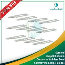 Surgical Scalpel Blades in Carbon or Stainless Steel, & Removers, Scalpel Blades