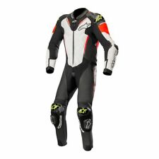 Alpinestars Atem V3 Motorcycle Motorbike 1 Piece Suit Black/White/Red/Yellow
