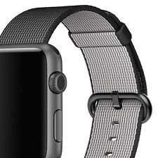 Watch Strap Nylon Woven Band 38mm 42mm Sport Loop for Apple Watch Series 2 3