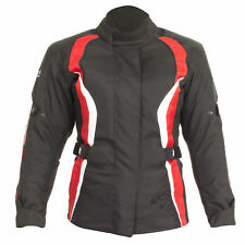 Rst Diva 3 III Mujer Textil Impermeable montar Chaqueta moto - 1255 - ROJO