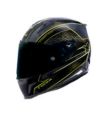 Nexx Helmets - Casco integrale X.R2 Carbon Pure nero, giallo