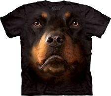 The Mountain Unisexe Enfant Rottweiler Visage T Shirt
