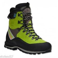 Arbortec Scafell Lite Chainsaw Protective Boots -  Lime