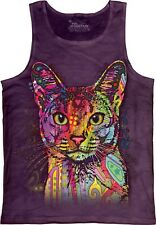 The Mountain Abyssinian Adult Unisex Russo Cat Tank Top