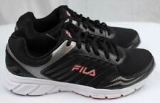 FILA Gamble Men's Black Red Running Sneakers Athletic Shoes