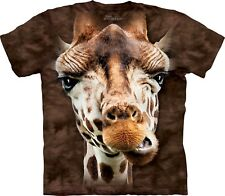 The Mountain Maglietta Giraffe Animal Bambino Unisex