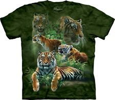The Mountain Maglietta Jungle Tigers Big Cats Bambino Unisex