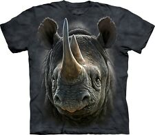 The Mountain Maglietta Black Rhino Animal Bambino Unisex
