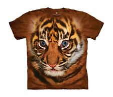 Mountain Maglietta Big Face Sumatra Tiger Cub Bambino Unisex