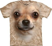 The Mountain Maglietta Chihuahua Face Dog Bambino Unisex
