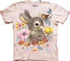 The Mountain Maglietta Unisex Bambino Baby Bunny Animal