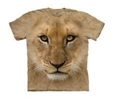 The Mountain Maglietta Big Face Lion Cub Bambino Unisex