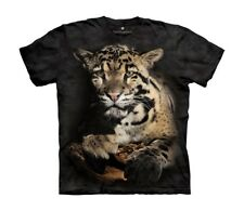 Mountain Maglietta Clouded Leopard Big Cats Bambino Unisex