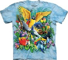 Mountain Maglietta Birds of Tropics Big Cats Bambino Unisex