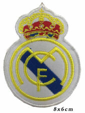 Real madrid fc logo football iron on/ sew on patch #36