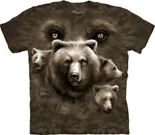 The Mountain Maglietta Bear Eyes Bear Adulto Unisex