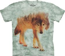 The Mountain Maglietta Unisex Adulto Forest Wolf Wolves