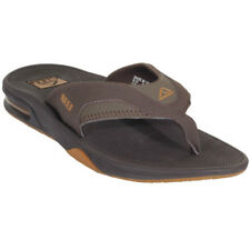 Reef Fanning Homme Chaussures Tongs - Brown Gum Toutes Tailles