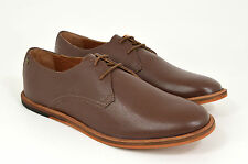 Frank Wright Busby Chaussures cuir marron, marron, cuir, à lacets, NEUF