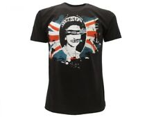T-shirt Rock Sex Pistols God Save the Queen Nera Originale Ufficiale Residuals