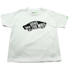 Vans Otw Kids T-shirt - White Black All Sizes