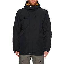 Quiksilver Mission Mens Jacket Snowboard - Black All Sizes